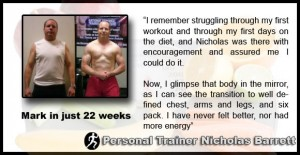 Mark - Personal Training in LA - Testimonial