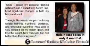 Helain - Personal Training in la Testimonial