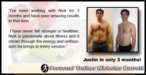 Justin - personal training in la - Testimonial