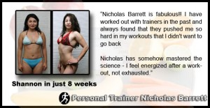 Shannon - personal training in la - testimonial