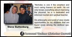 Steve Guttenberg Personal Training Testimonial